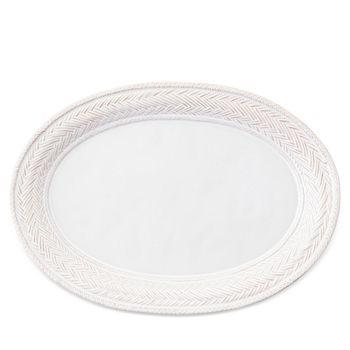 """Juliska - Le Panier Whitewash 17"""" Platter"""