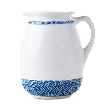 Juliska - Le Panier Delft Blue Pitcher Vase