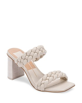 Dolce Vita - Women's Paily Braided Double Strap High Heel Sandals