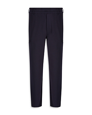 Regular Fit Pull On Trousers