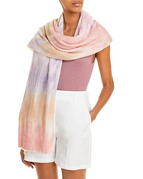 C by Bloomingdale's - Tie-Dye Cashmere Travel Wrap - 100% Exclusive