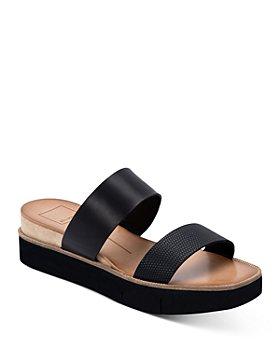 Dolce Vita - Women's Parni Double Strap Platform Slide Sandals