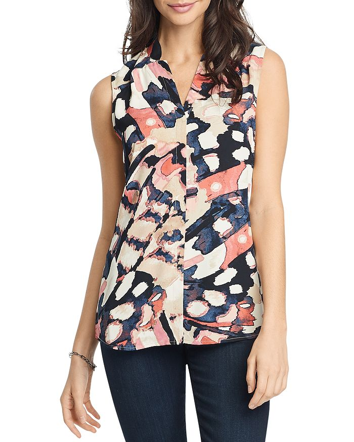 NIC and ZOE - All Flutter Sleeveless Top