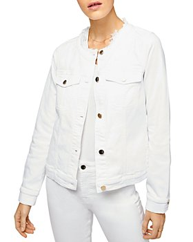 7 For All Mankind - Collarless Jean Jacket