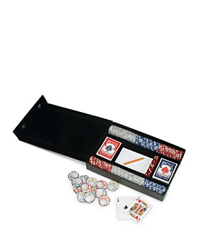 ROYCE New York - Professional Poker Set and Leather Case