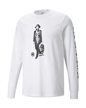 PUMA - Franchise Cotton Graphic Long Sleeve Tee