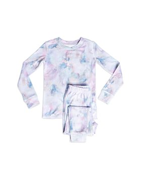 PJ Salvage - Girls' Marble Print Pajama Set - Little Kid, Big Kid