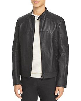 HUGO - Likaro Leather Jacket