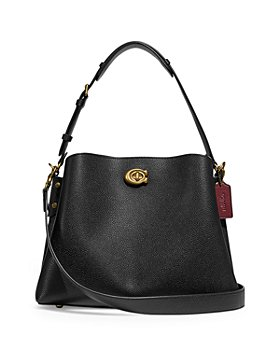 COACH - Willow Medium Pebble Leather Convertible Crossbody