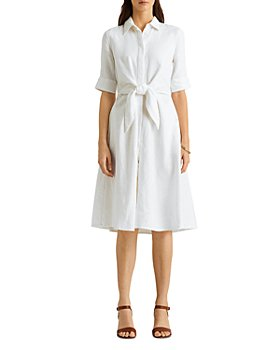 Ralph Lauren - Tie Front Shirtdress