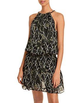 Ramy Brook - Convertible Chiffon Mini Dress