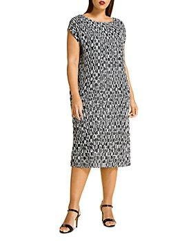 Marina Rinaldi - Danzare Plisse Midi Dress