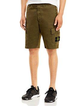 Stone Island - Canvas Bermuda Shorts