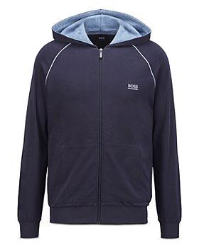 Hugo Boss - Mix & Match Cotton Blend Hooded Track Jacket
