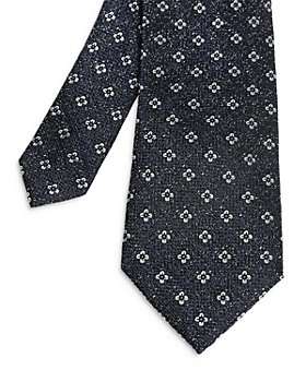 Ted Baker - Geometric Jacquard Silk Skinny Tie
