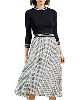 Ted Baker - Knit Bodice Mockable Dress