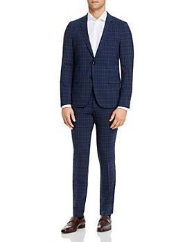 HUGO - Plaid Extra Slim Fit Suit Separates