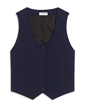 Sandro - Maxwel Cropped Vest
