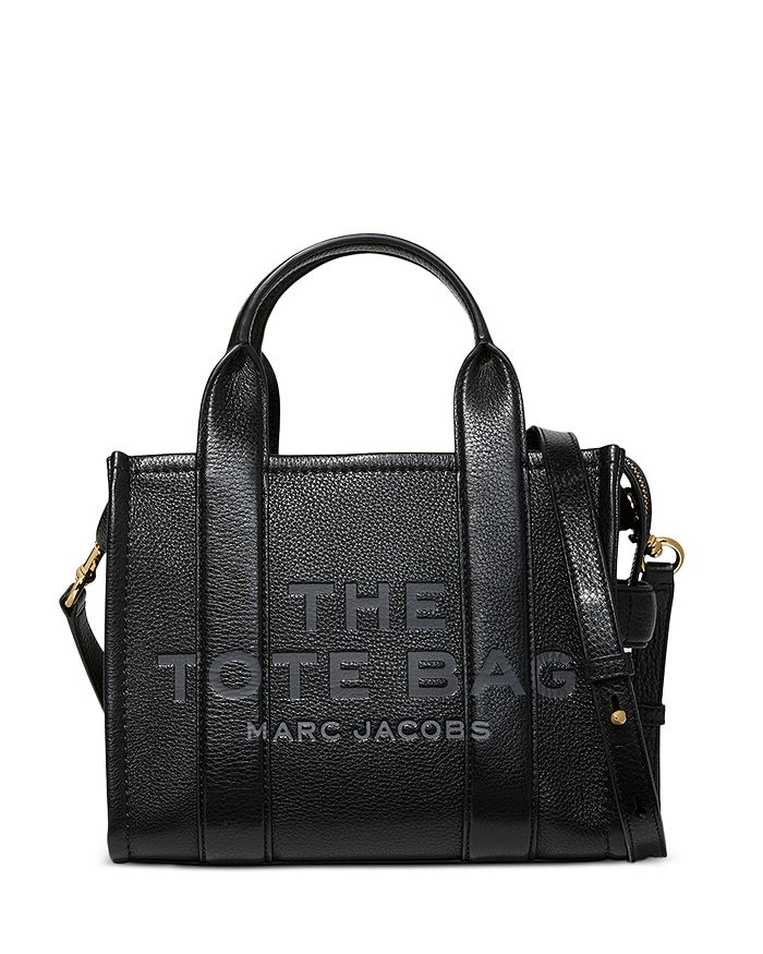 MARC JACOBS - The Tote Bag Mini Traveler Leather Tote Bag