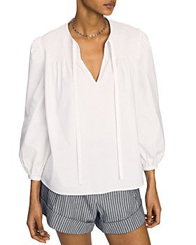 Derek Lam 10 Crosby - Austin Smocked Top