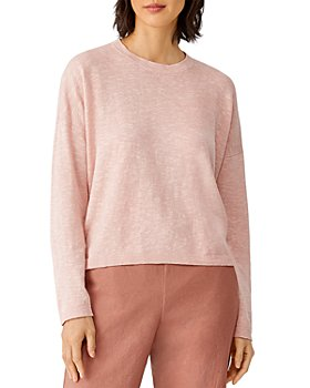 Eileen Fisher Petites - Crewneck Boxy Sweater