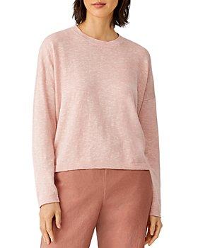 Eileen Fisher Petites - Crewneck Boxy Sweater