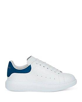Alexander McQUEEN - Men's Oversized Suede Heel Detail Sneakers