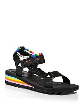 KURT GEIGER LONDON - Women's Orion Demi Wedge Sandals