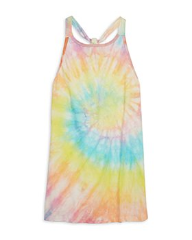 Limeapple - Girls' Tie Dye Swim Coverup Dress - Little Kid, Big Kid