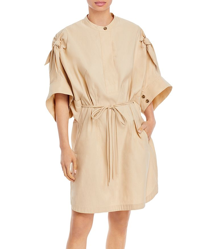 3.1 Phillip Lim Mini dresses KNOTTED SLEEVE MID LENGTH DRESS