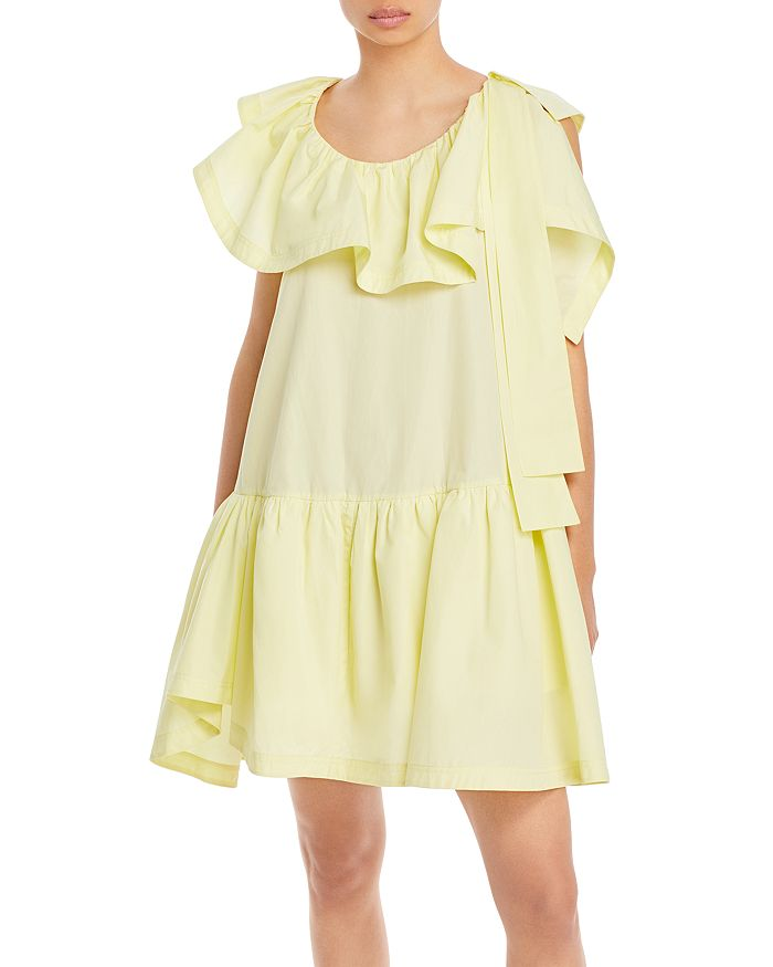 3.1 Phillip Lim Dresses RUFFLED NECK TENT DRESS