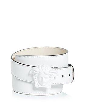 Versace - Men's Palazzo Medusa Buckle Leather Belt