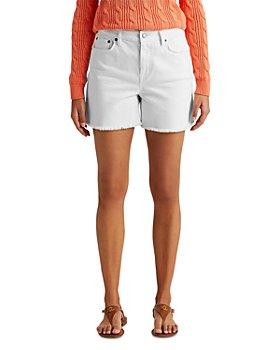 Ralph Lauren - High Rise Denim Shorts