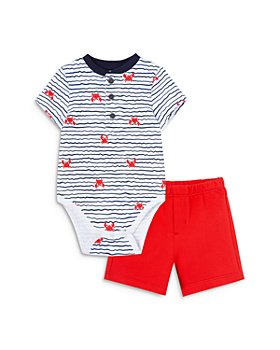 Little Me - Boys' Crab Bodysuit & Shorts Set - Baby