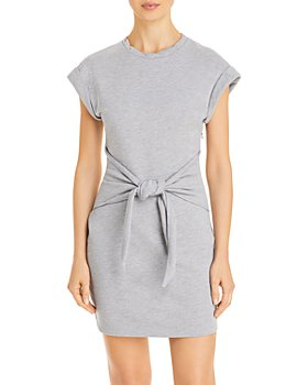 LINI - Janelle Tie-Front Sweatshirt Dress - 100% Exclusive