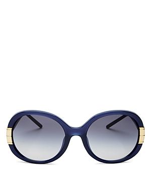Tory Burch Women's Round Sunglasses, 57mm