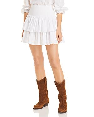 Ilana Ruffled Mini Skirt