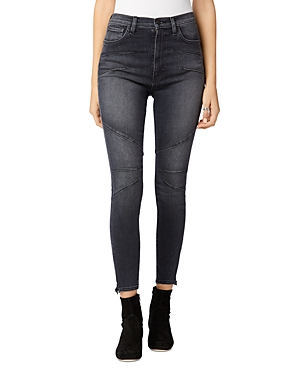 Hudson CENTERFOLD EXTREME HIGH RISE SUPER SKINNY JEANS IN GHOSTS