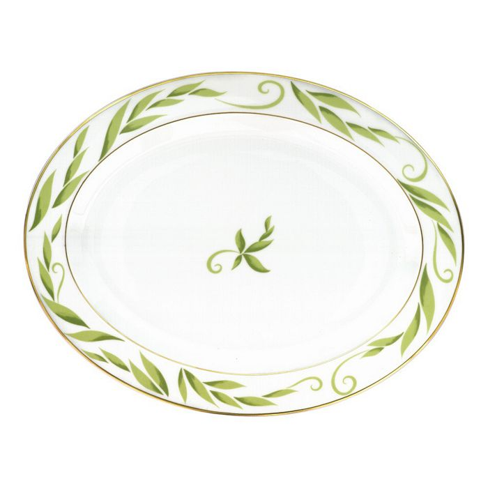 "Bernardaud - Frivole Oval Platter, 15"""