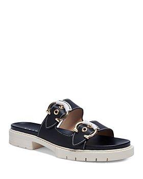 COACH - Women's Piper Buckled Platform Sandals