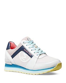 MICHAEL Michael Kors - Women's Billie Lace Up Trainer Sneakers