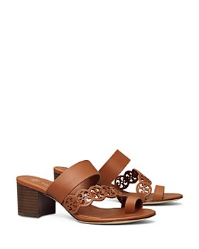 Tory Burch - Women's Tiny Miller Toe Ring High Heel Sandals