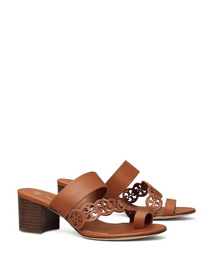 Tory Burch - Women's Tiny Miller Toe Ring High Heel Sandals