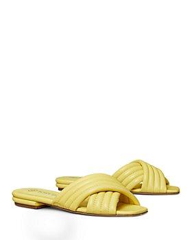 Tory Burch - Women's Kira Quilted Crisscross Sandals