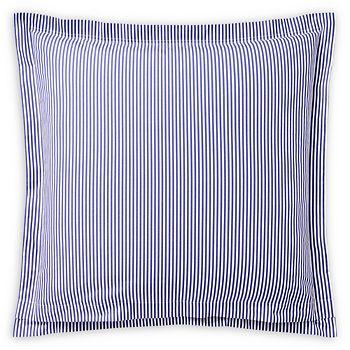 "Ralph Lauren - Organic Striped Shirting Euro Sham, 26"" x 26"""