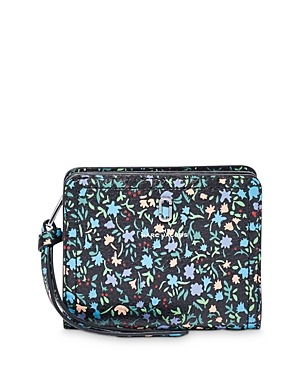 Marc Jacobs THE SOFTSHOT MINI DITSY FLORAL COMPACT WALLET