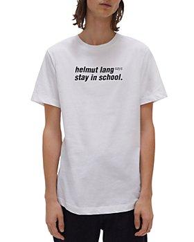 Helmut Lang - Stay in School Crewneck Tee
