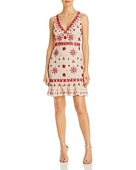 Aidan by Aidan Mattox - Beaded Cocktail Dress