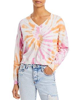AQUA - Tie Dye Knit Sweater - 100% Exclusive