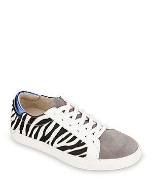 Women's Kam Animal-Print Lace Up Sneakers